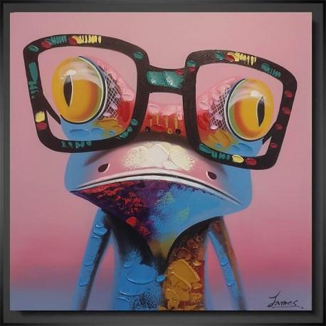 "Moderne maleri ""Froggy"""