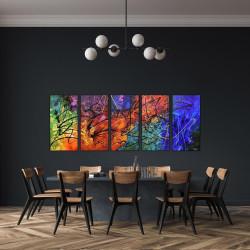 Stort abstrakt maleri - billeder til væggen