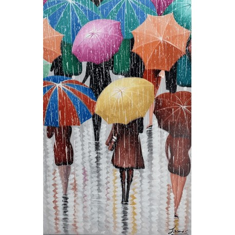 Moderne billeder til væggen - Rain